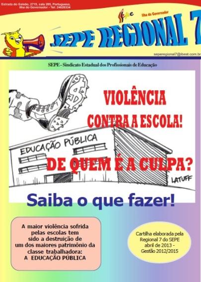 Se sua escola sofre com problemas de violência, veja como proceder