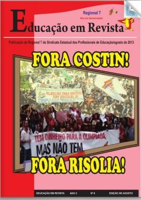 Educação em Revista é uma publicação da Regional 7 do Sepe